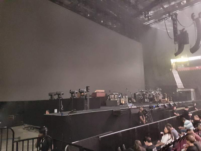 Manchester Arena, section: 102, row: C, seat: 7