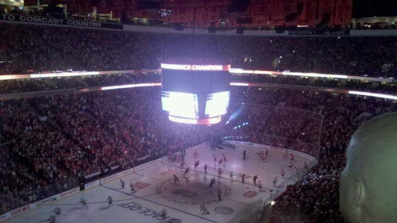 Seating view for Wells Fargo Center Section 209a Row 9 Seat 12