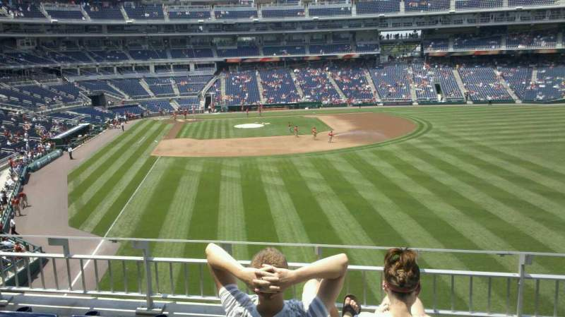 Seating view for Nationals Park Section 237 Row D Seat 6