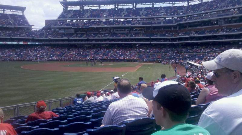 Seating view for Citizens Bank Park Section 139 Row 27 Seat 16