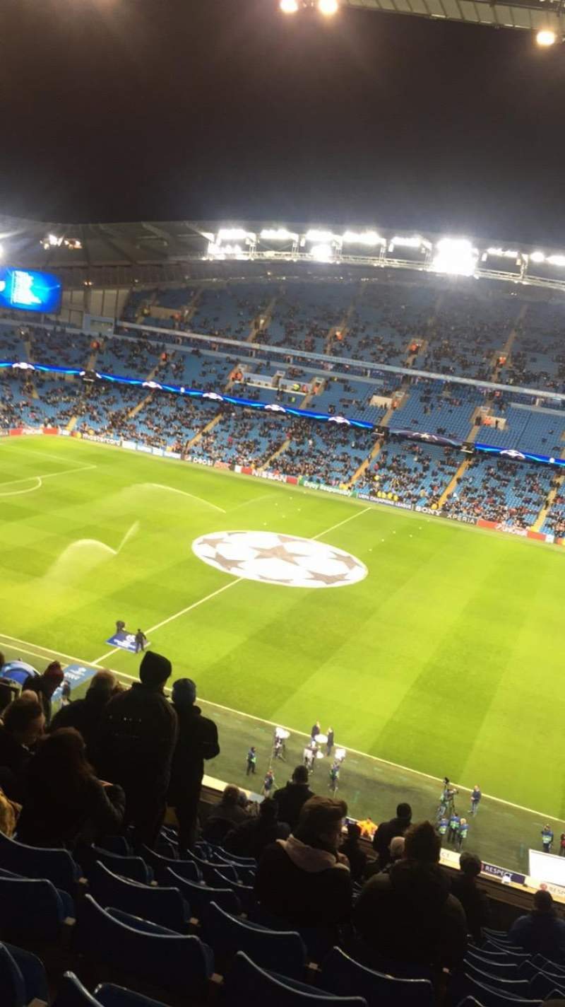 Seating view for Etihad Stadium (Manchester) Section 324 Row N Seat 686