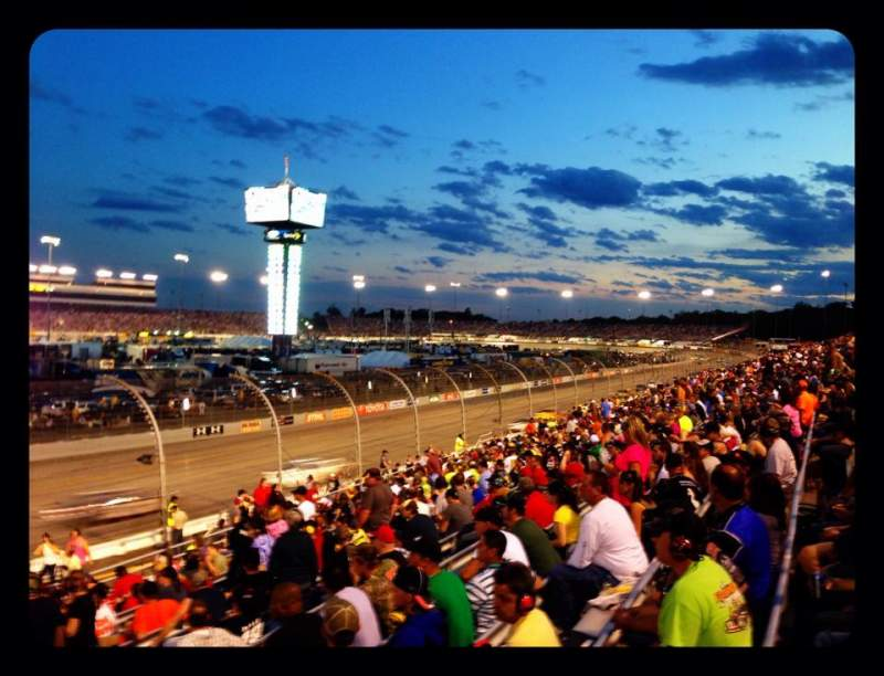 Seating view for Richmond International Raceway Section Henrico ZZ Row 17 Seat 1