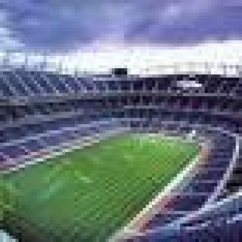 Seating view for Mile High Stadium