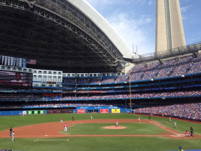 Seating view for Rogers Centre Section 126R Row 28 Seat 9