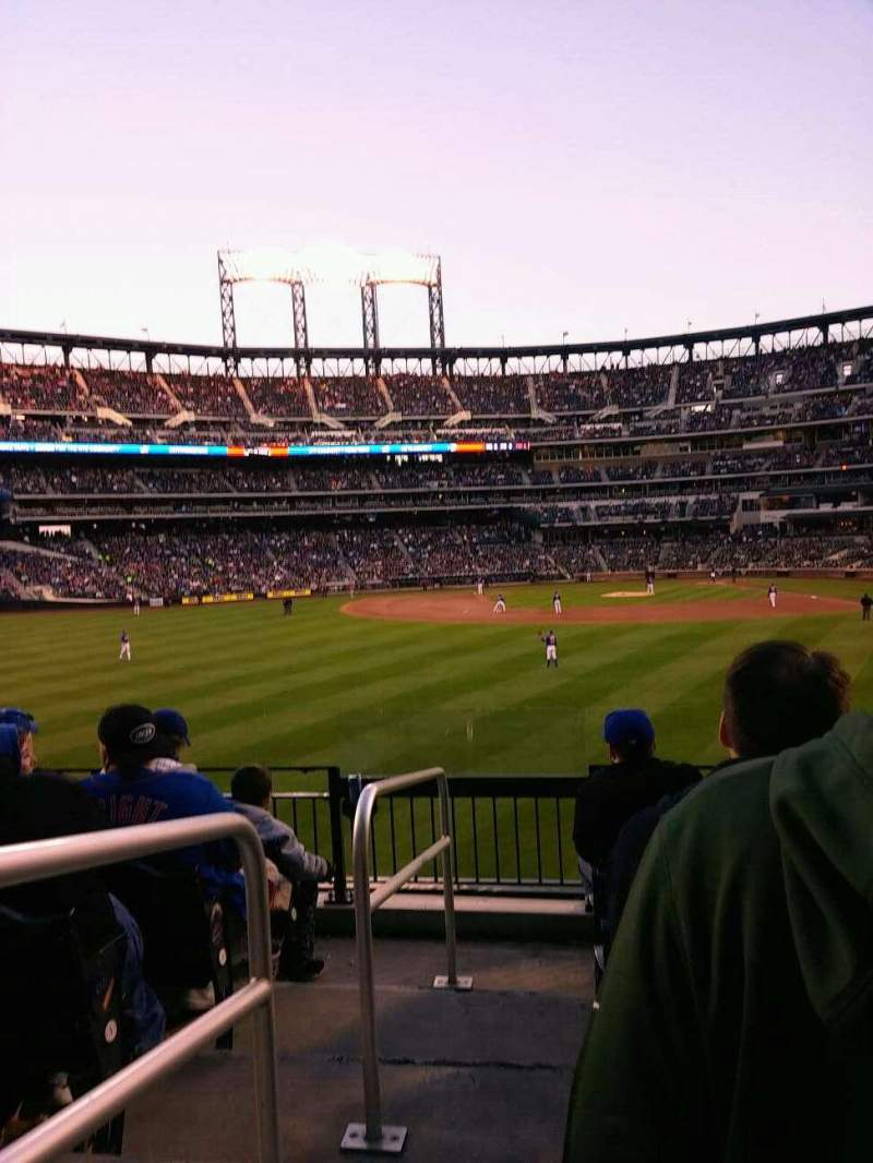 Seating view for Citi Field Section 135 Row 8 Seat 12