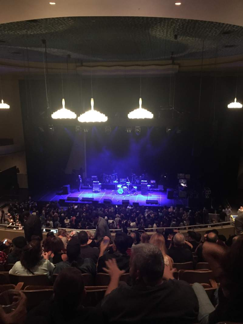 Seating view for SF Masonic Auditorium Section Balcony Row 11 Seat 6