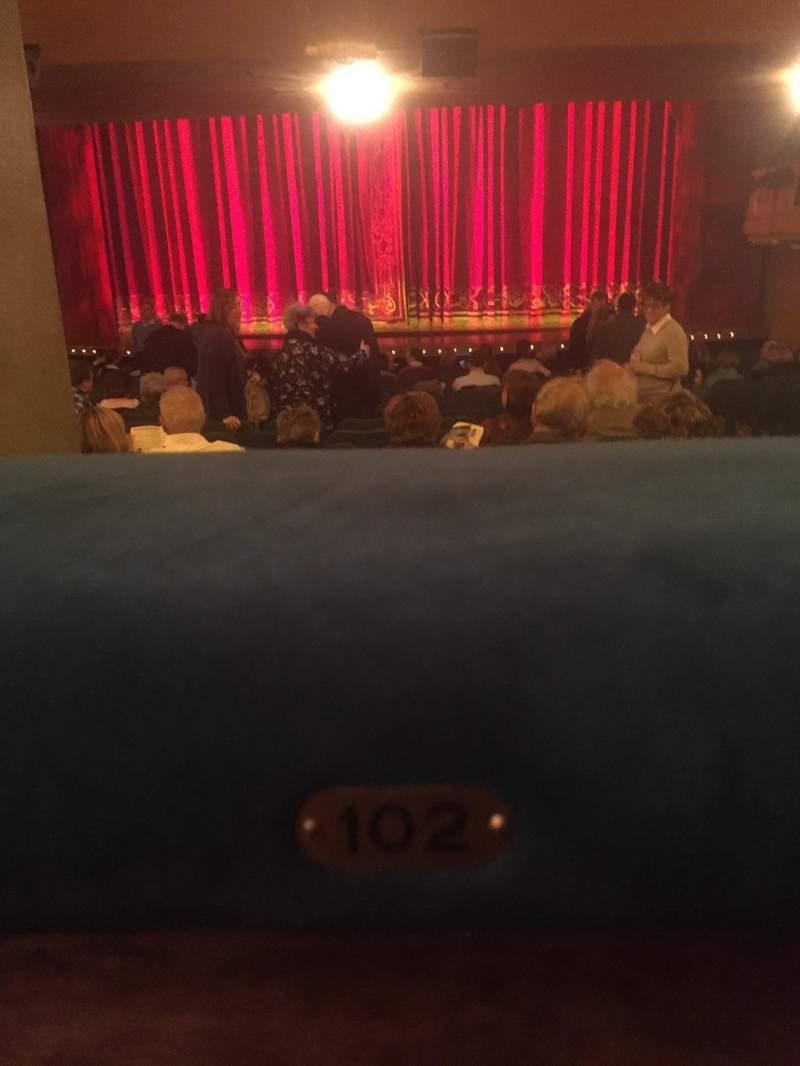 Shubert Theatre, section: Orchestra, row: Standing room, seat: 102