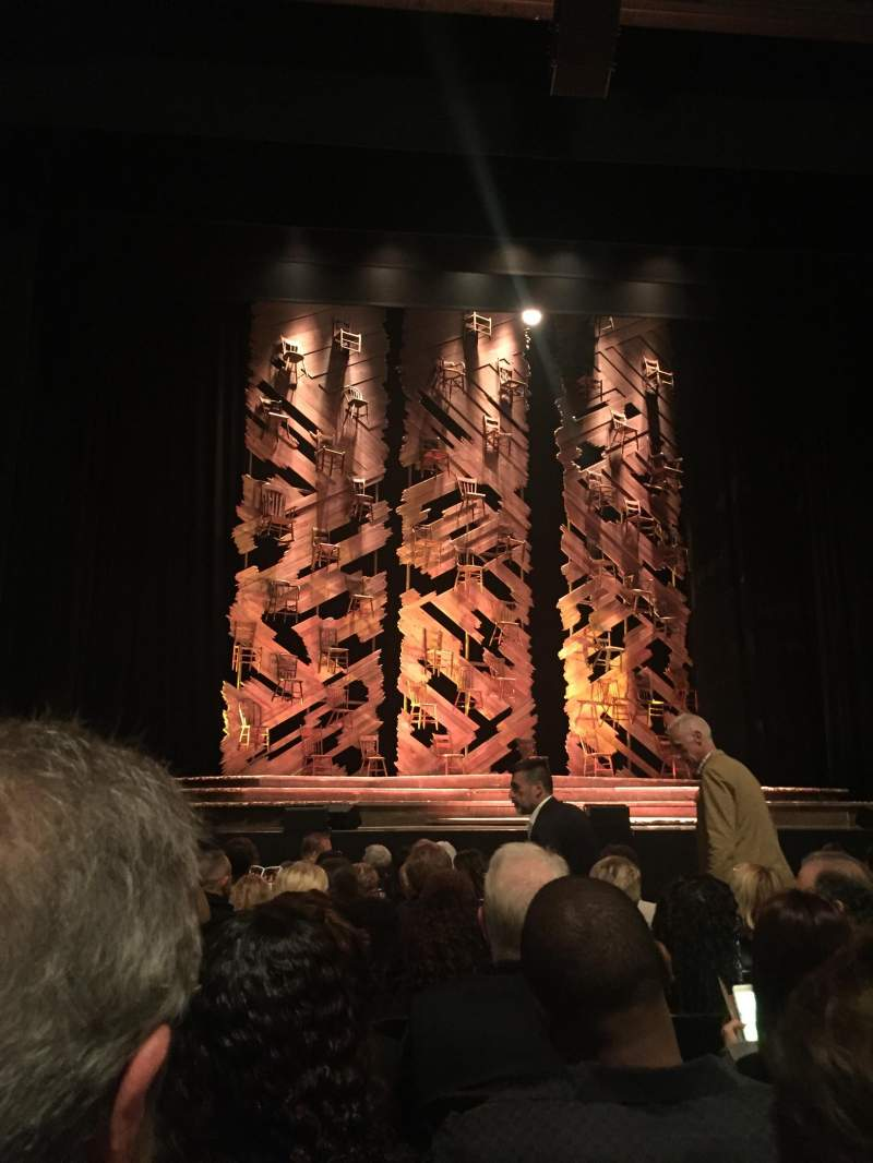 Seating view for Orpheum Theatre (San Francisco) Section Orchestra LC Row H Seat 105
