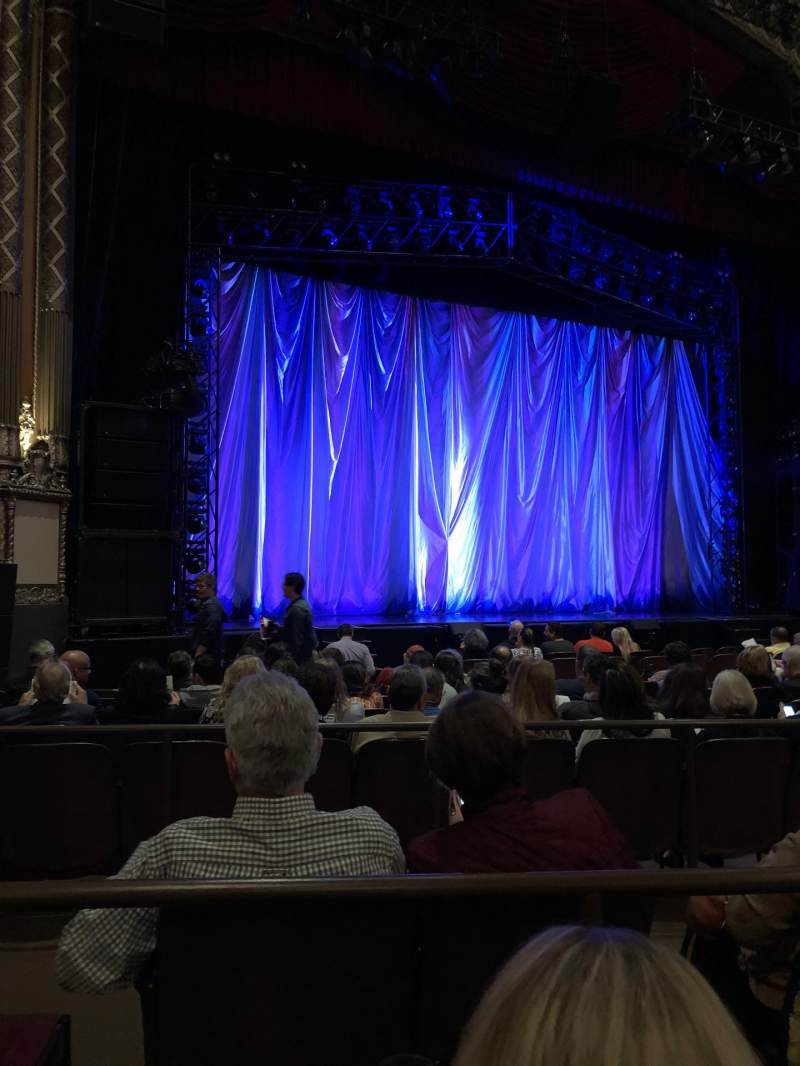 Golden Gate Theatre Section Orchestra Row K Seat 117