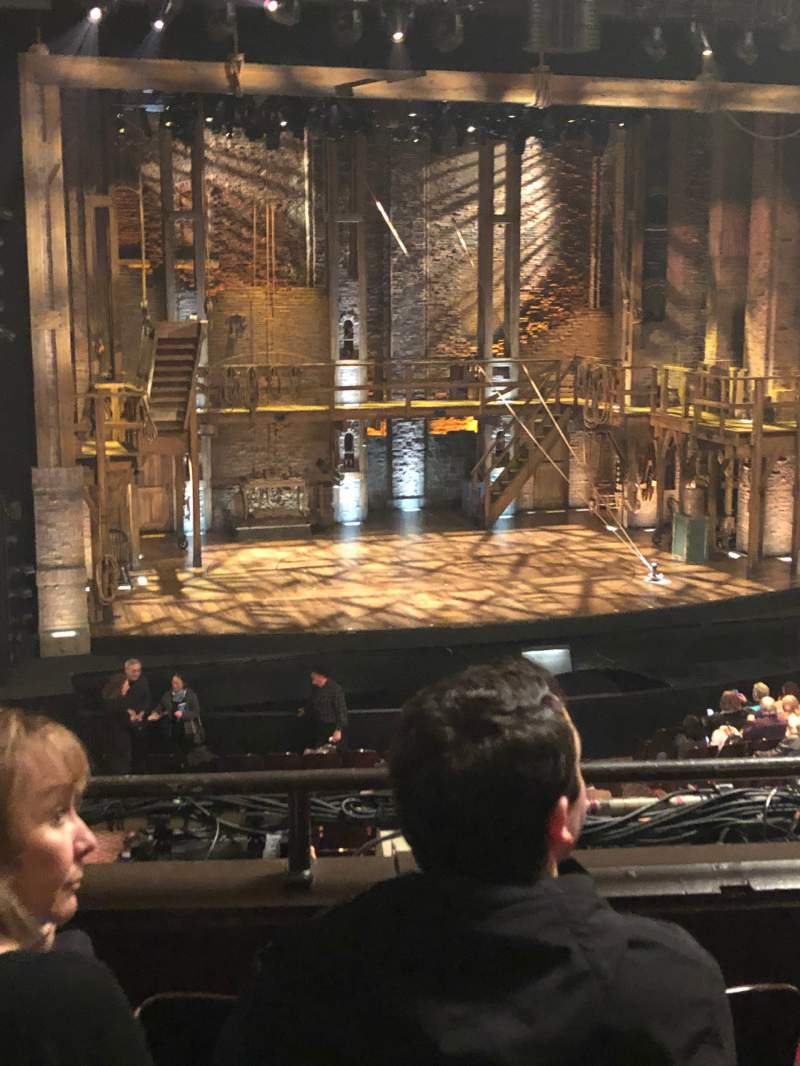 Seating view for Orpheum Theatre (San Francisco) Section Mezzanine LC Row D Seat 127