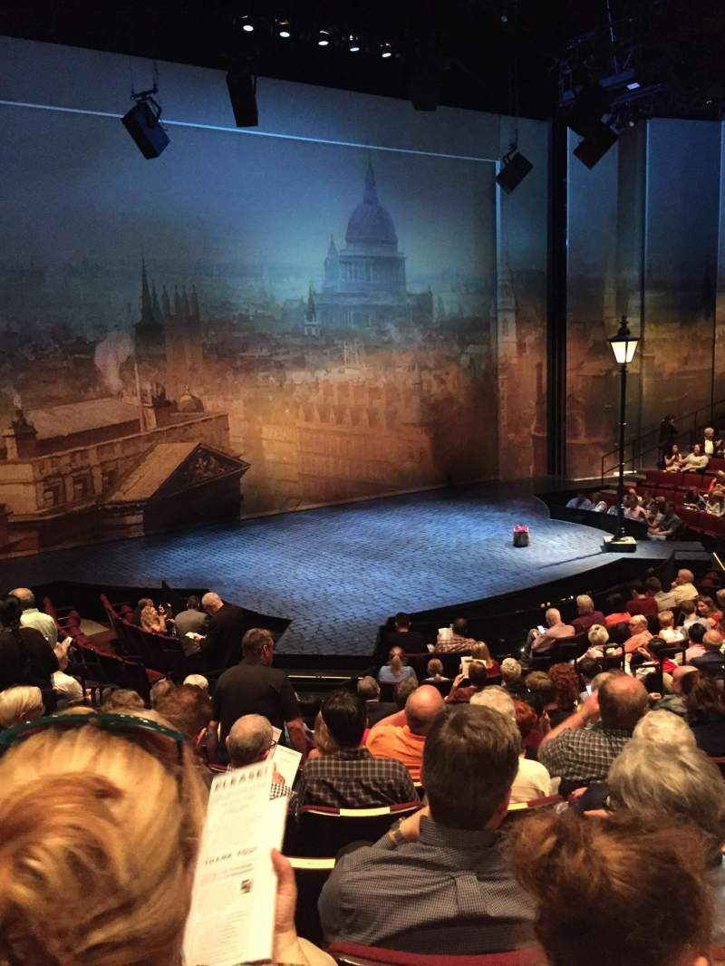 Seating view for Vivian Beaumont Theater Section Orchestra LC Row O Seat 209