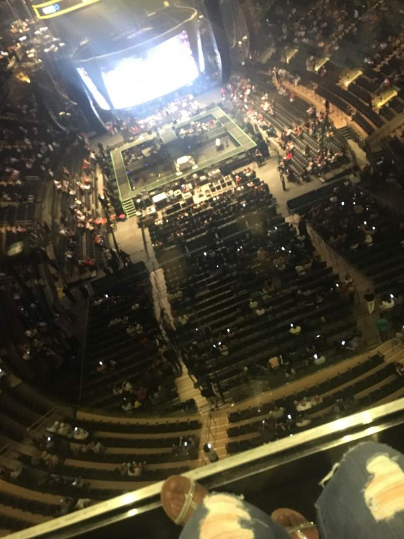 Madison Square Garden, section: 320, row: 1, seat: 17