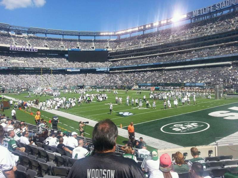 Seating view for MetLife Stadium Section 131 Row 11 Seat 11