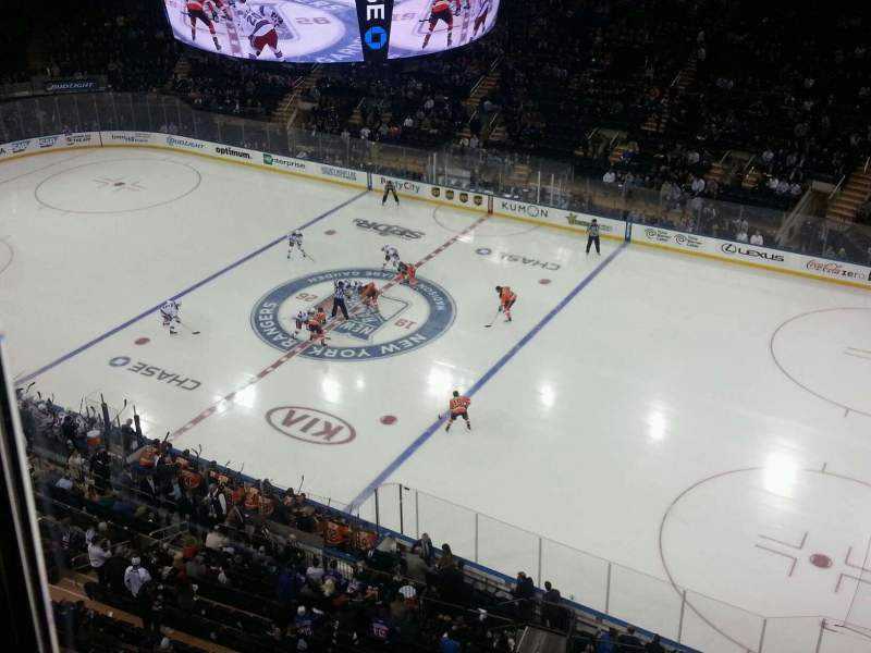 Seating view for Madison Square Garden Section 315 Row 1 Seat 10