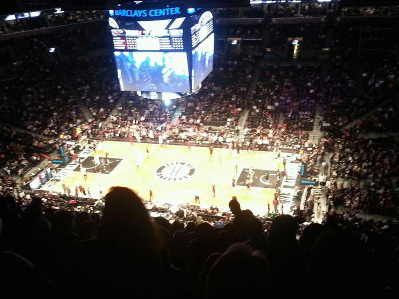 Seating view for Barclays Center Section 206 Row 21 Seat 11