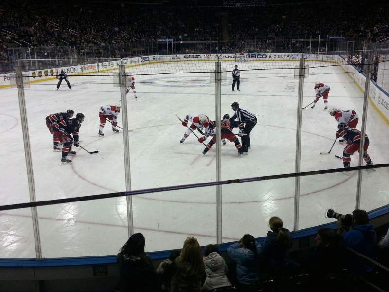 Madison Square Garden, section: 103, row: 6, seat: 11