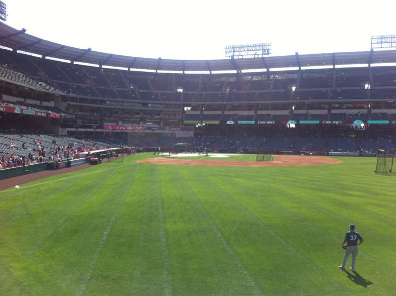 Seating view for Angel Stadium Section 236 Row A Seat 7