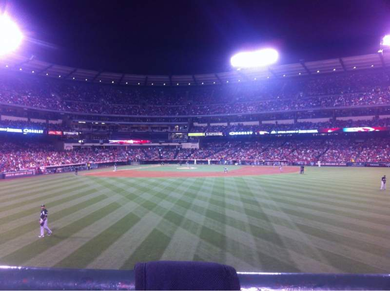Seating view for Angel Stadium Section P238 Row A Seat 18