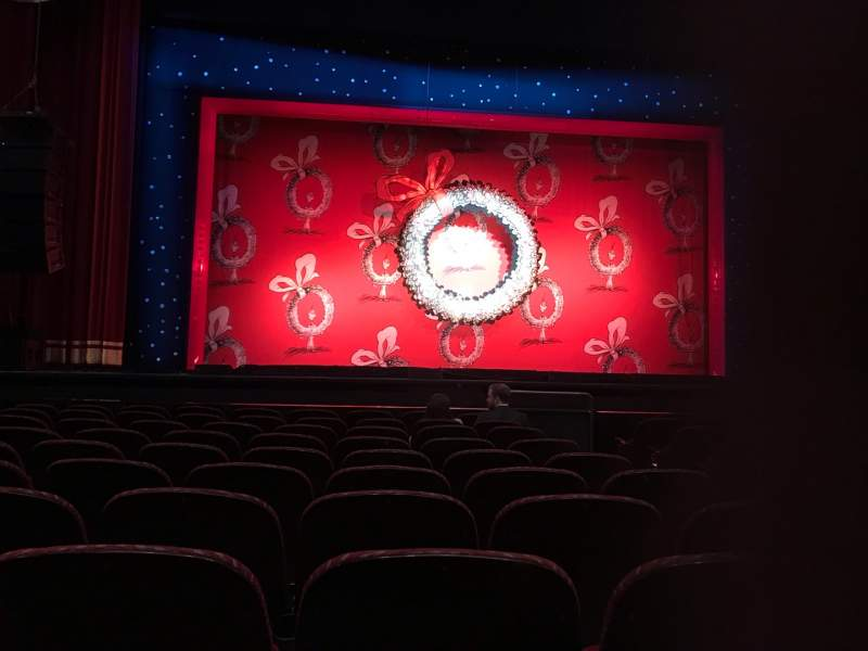 Seating view for Stifel Theatre Section Orchestra LC Row K Seat 3