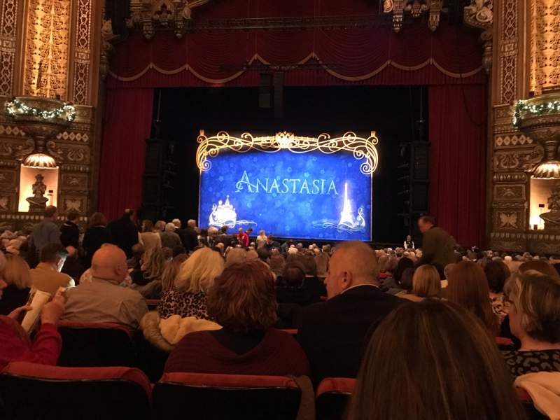 Seating view for The Fabulous Fox Theatre (St. Louis) Section Orchestra 4 Row V Seat 116