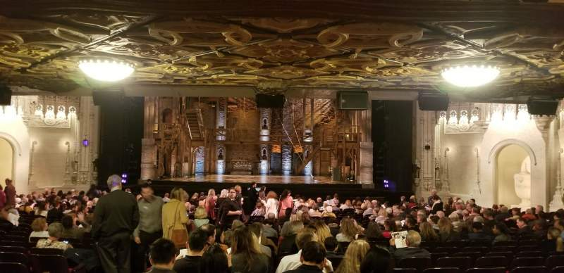 Seating view for Orpheum Theatre (San Francisco) Section Orchestra LC Row CC Seat 104