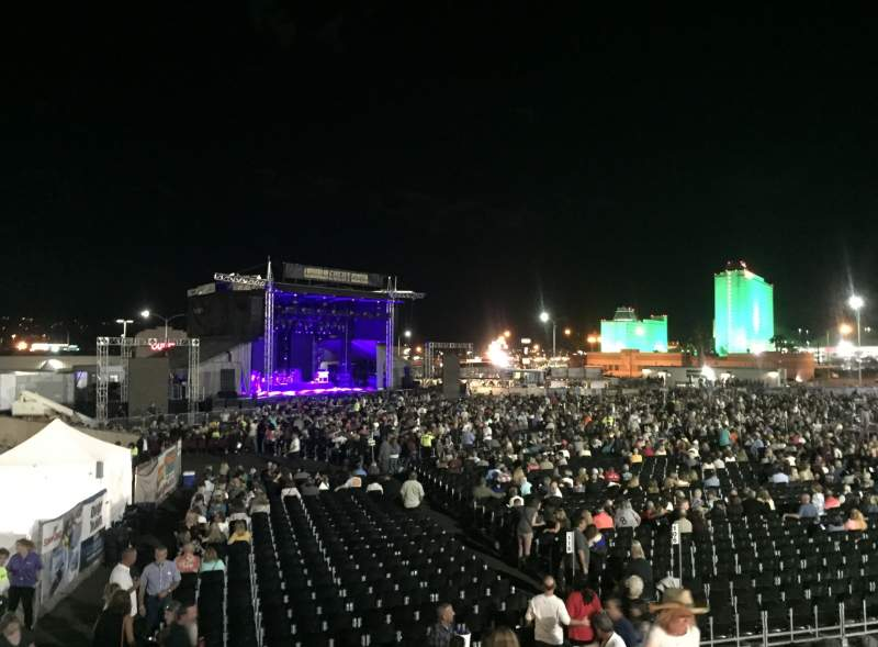 Seating view for Laughlin Event Center Section 201