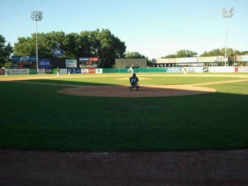 Seating view for Fifth Third Bank Ballpark Section Umpire Row Home