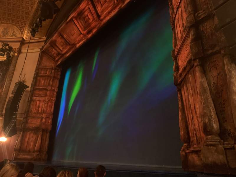 Seating view for St. James Theatre Section Orchestra R Row D Seat 14