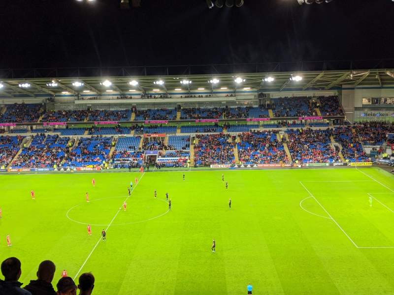 Seating view for Cardiff City Stadium Section 513 Row N Seat 72