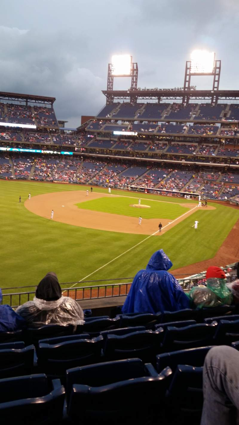 Seating view for Citizens Bank Park Section 236 Row 5 Seat 14
