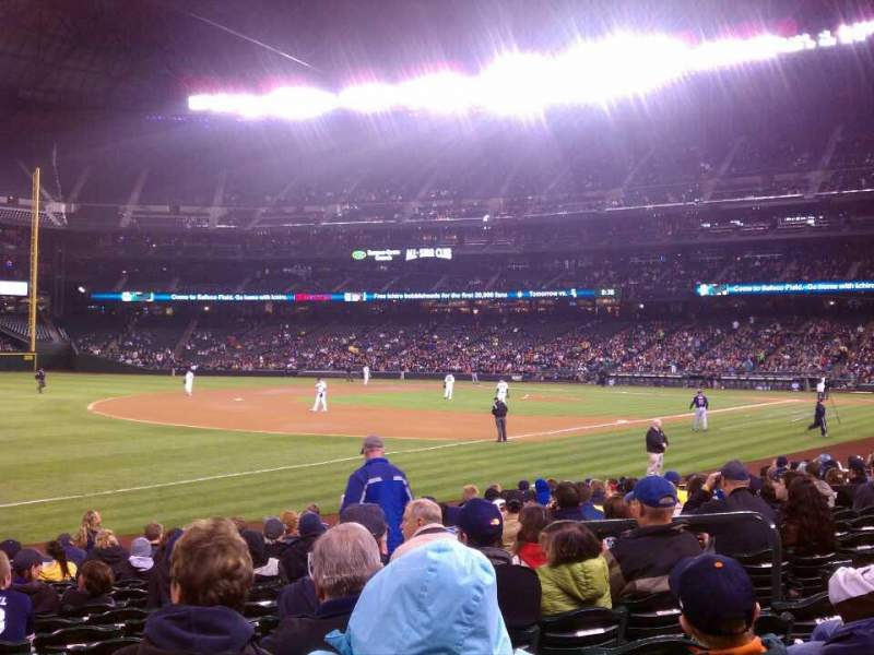 Seating view for Safeco Field Section 144 Row 16 Seat 8