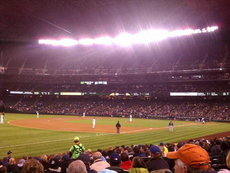 Seating view for Safeco Field Section 144 Row 16 Seat 9