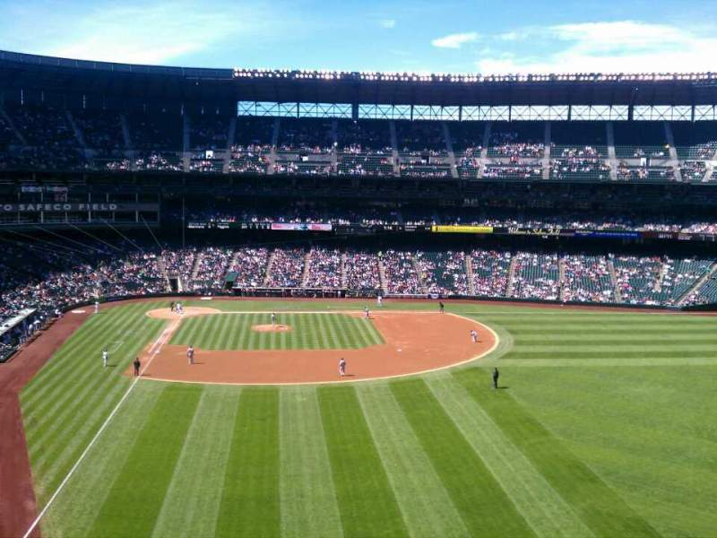 Seating view for Safeco Field Section gsh Row 2 Seat 6