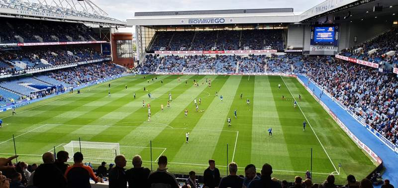 Seating view for Ibrox Stadium Section CR1 Row T Seat 31