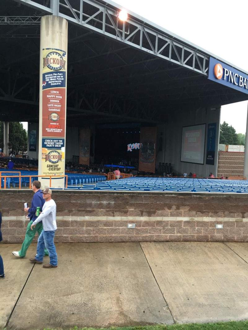 Seating view for PNC Music Pavilion Section 10 Row A Seat 25