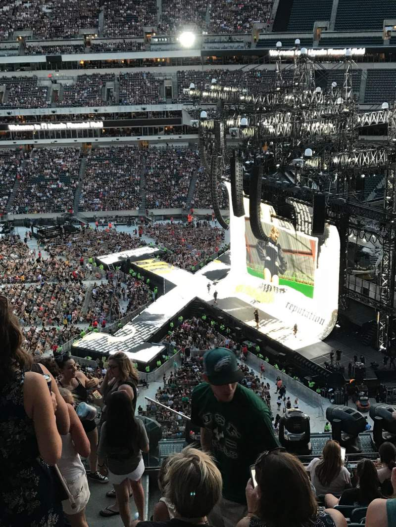Lincoln Financial Field Section 228 Row 10 Taylor Swift Shared By Lreitzel