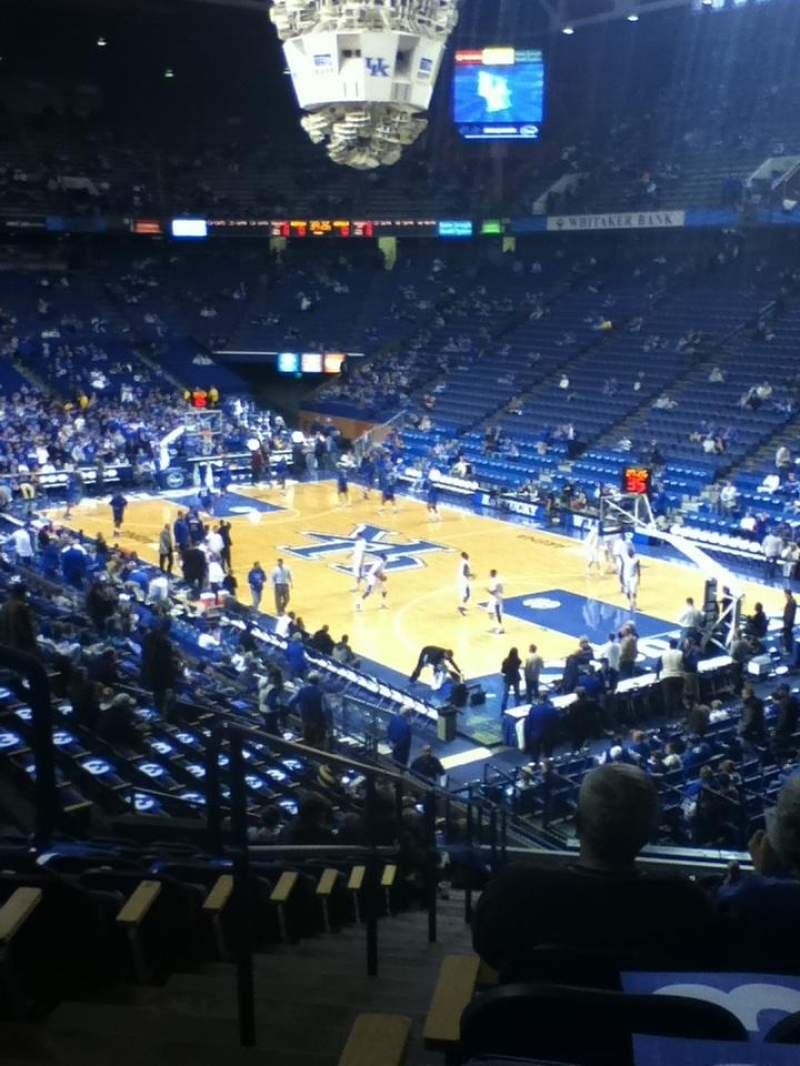 Seating view for Rupp Arena Section 26 Row W Seat 13-14