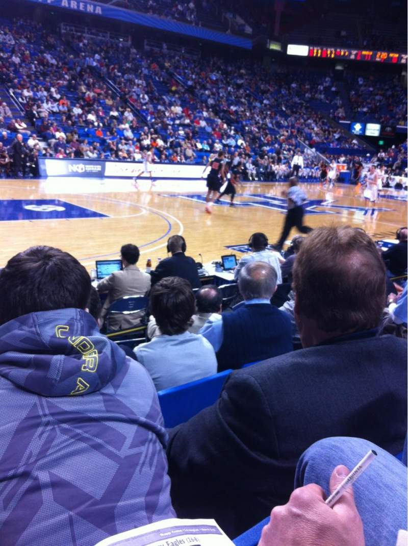 Seating view for Rupp Arena Section 16 Row DD Seat 6