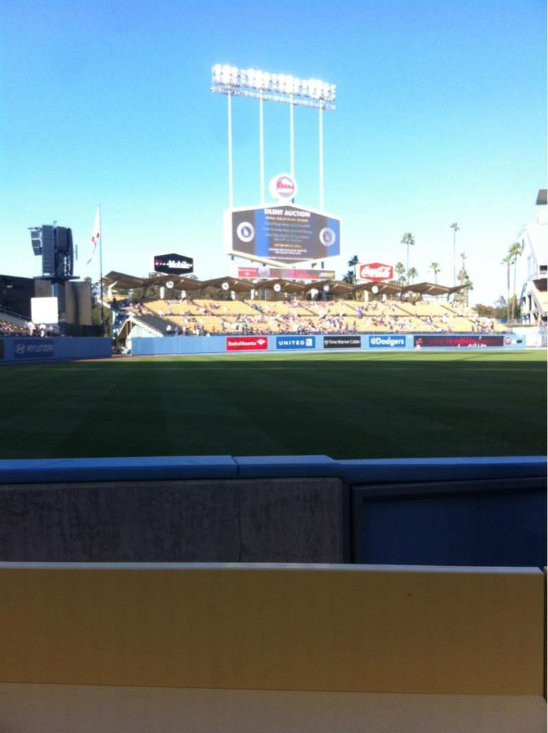 Seating view for Dodger Stadium Section 45FD Row BB Seat 10