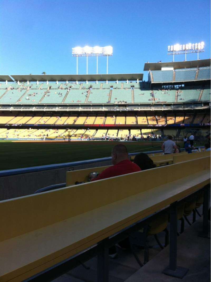 Seating view for Dodger Stadium Section 45BL Row BB Seat 10