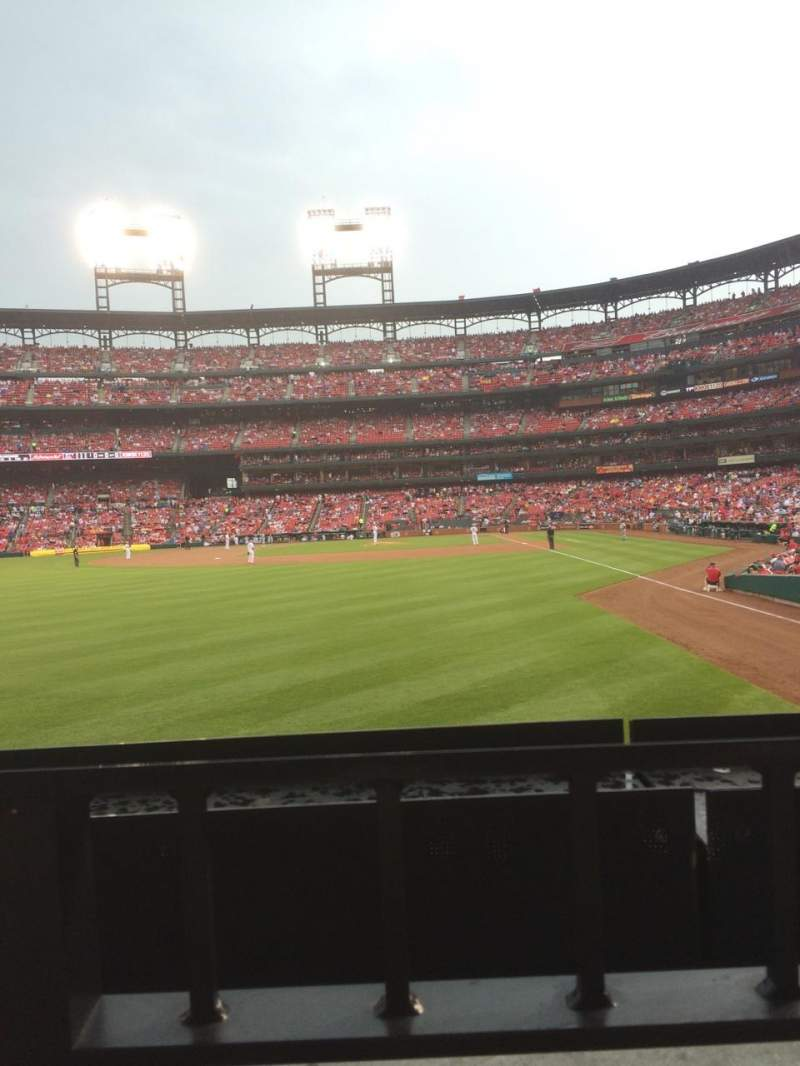 Seating view for Busch Stadium Section 171 Row 1 Seat 8