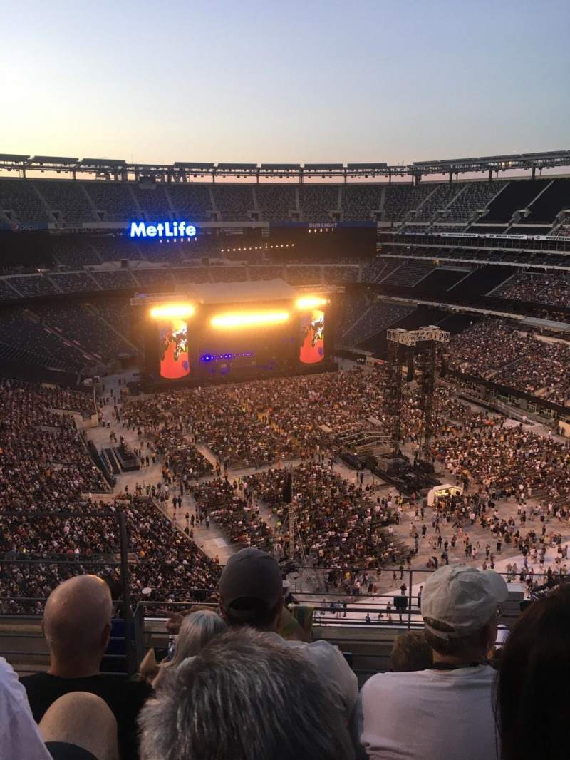 Seating view for MetLife Stadium Section 330 Row 11