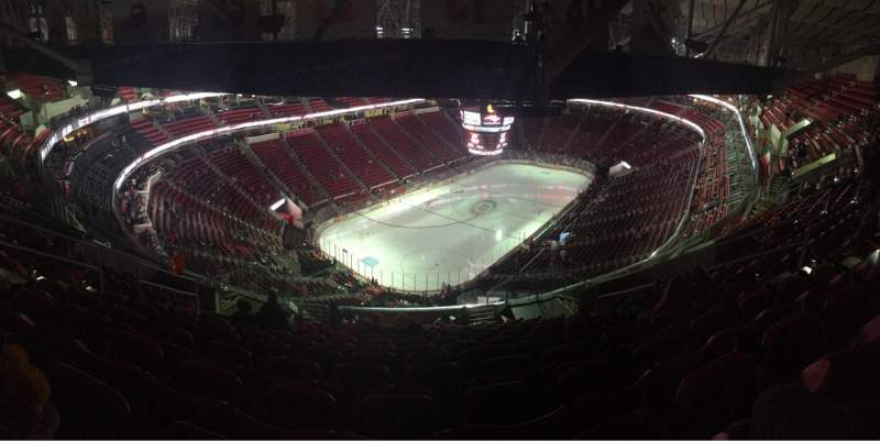 Seating view for PNC Arena Section 310 Row N