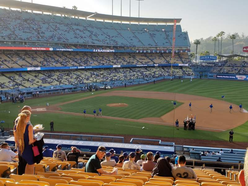 Seating view for Dodger Stadium Section 138LG Row R Seat 5