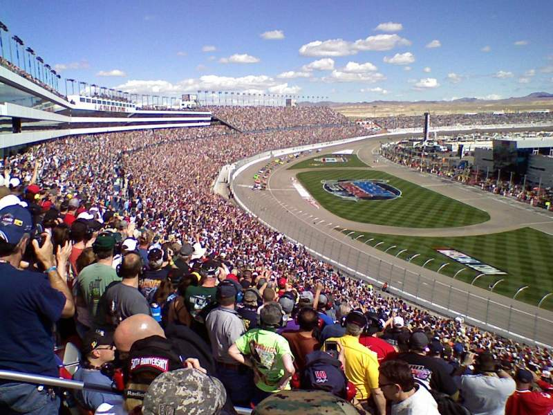 Seating view for Las Vegas Motor Speedway Section PT112 Row 51 Seat 24