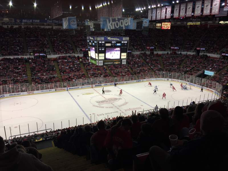 Seating view for Joe Louis Arena Section 224 Row 18 Seat 1