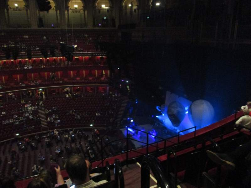 Seating view for Royal Albert Hall Section Rausing Circle X Row 6 Seat 215