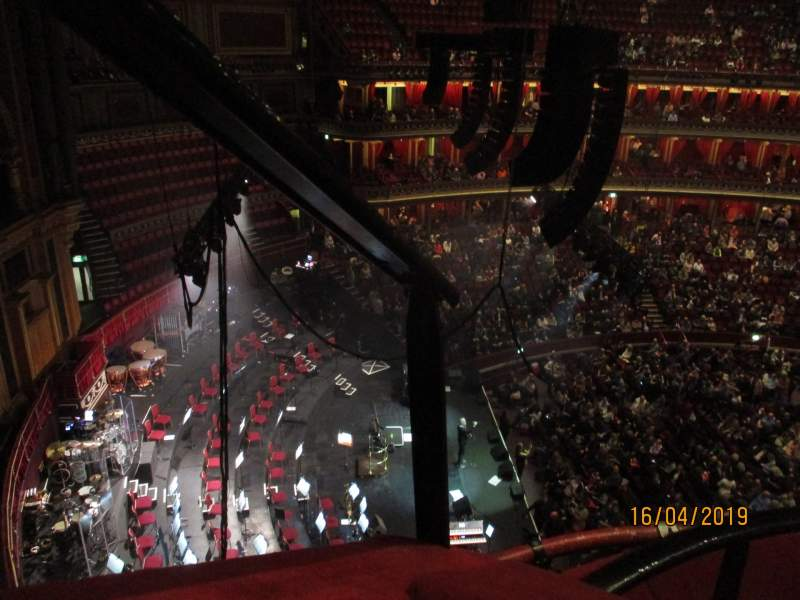 Seating view for Royal Albert Hall Section Rausing Circle P Row 2 Seat 1