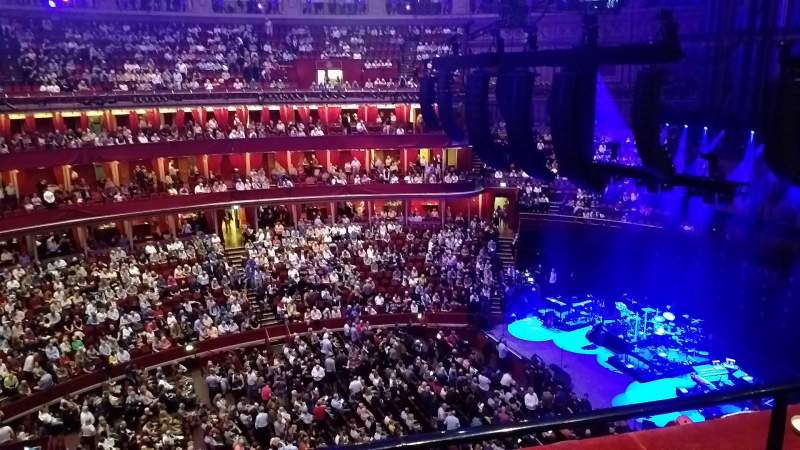 Seating view for Royal Albert Hall Section Rausing Circle W Row 2 Seat 98