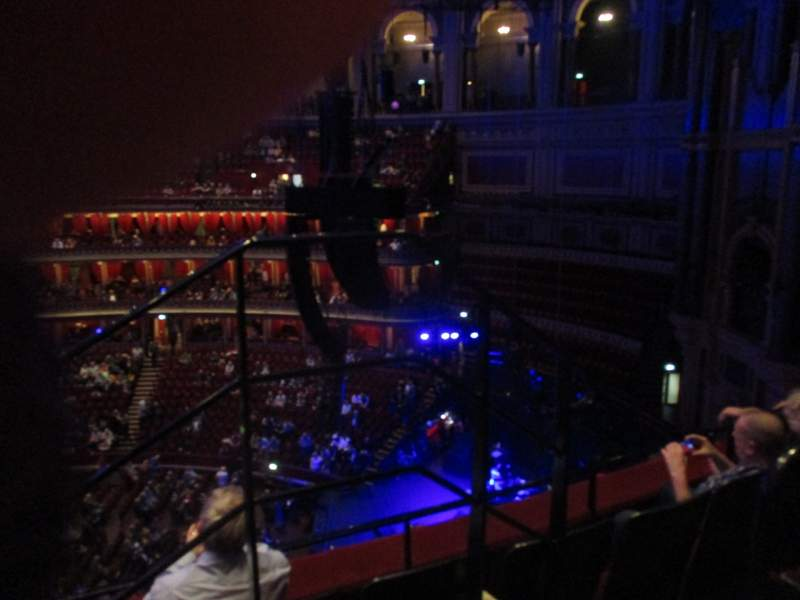 Seating view for Royal Albert Hall Section Rausing Circle Y Row 3 Seat 179